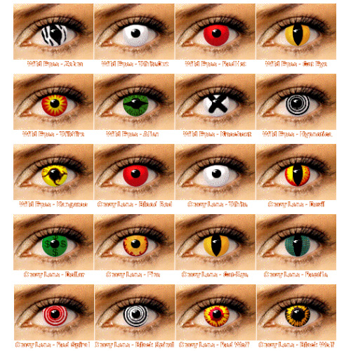 Colored Contact Lens Laos