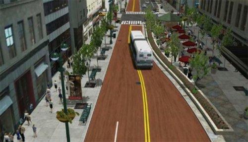Govt approves rapid bus lane project