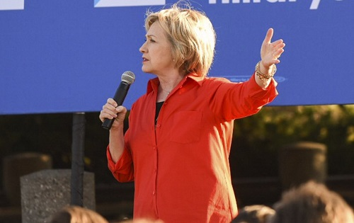 Hillary Clinton Answers Unexpected Question About Unexploded Bombs In Laos