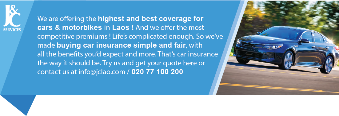 J&C Services Motor Insurance Laos