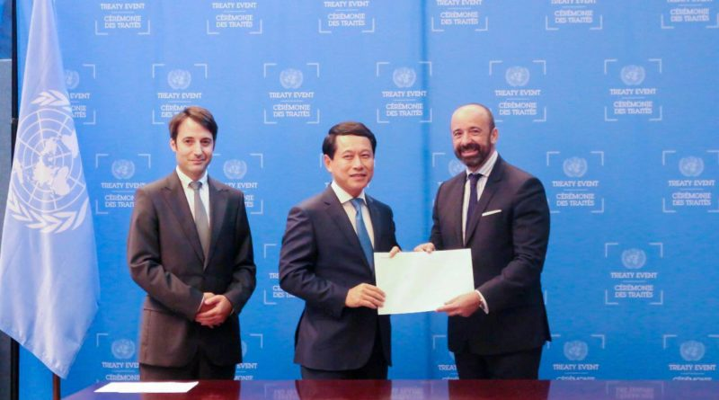 Laos becomes party to two more UN treaties