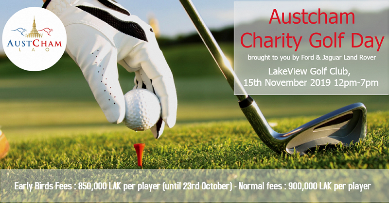 The 3rd AustCham Charity Golf Day