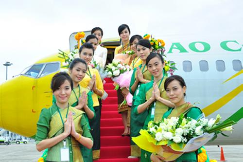 Lao Central Airline Campaigns Destination Bangkok and Luang Prapang