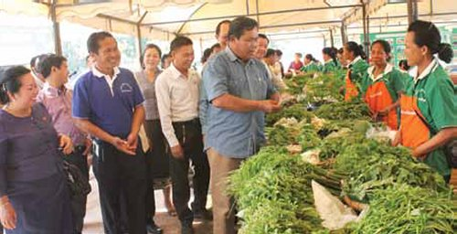 New Organic Market Opens At Chao Fa Ngum Park