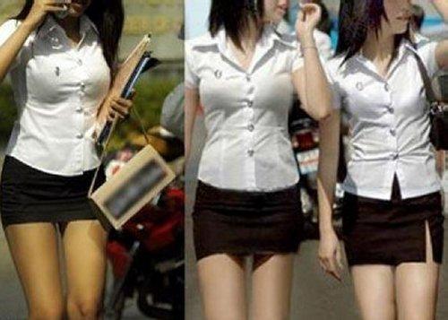 Thailand's Sexy School Uniforms
