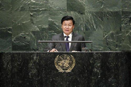 Adverse conditions stop poorer countries reaching development goals, Laos tells UN