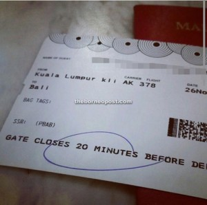 Do Not Post Your Airline Boarding Pass Online