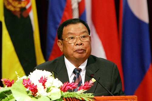 Bounnhang Vorachit New President Of The Lao PDR
