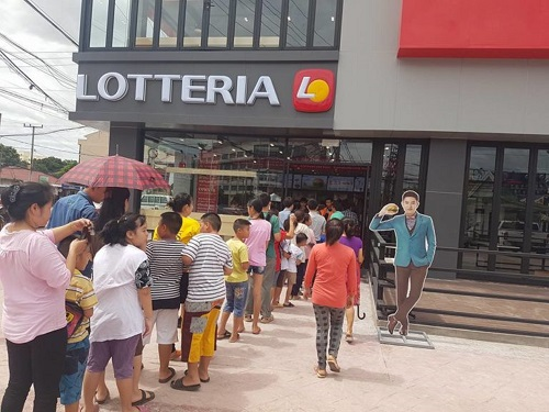 Lotteria Opens First Laos Outlet