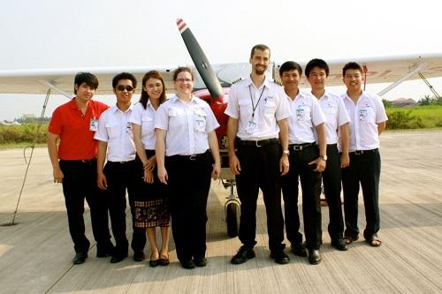 First Pilots Graduate From Lao Civil Aviation Flight Training Centre
