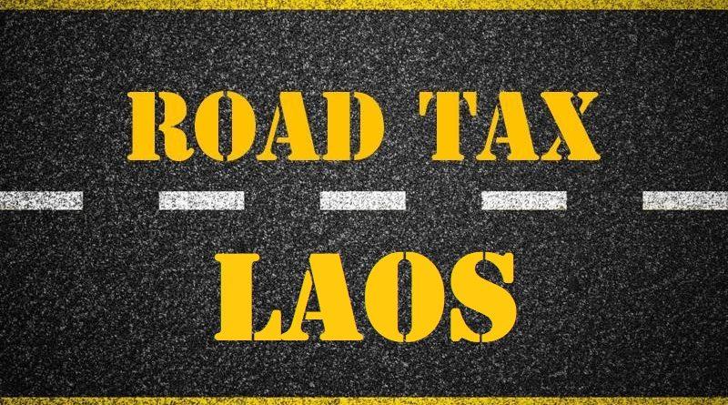 Road Tax 2017 Laos