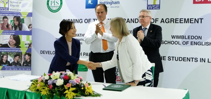 First UK English language school opens in Vientiane