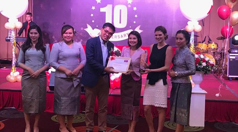 "J&C Services Awarded ""Diamond Agent"" – 1st Place At Toko Assurance's 10-Year Anniversary Celebration"