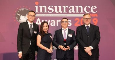 J&C Services Winning The Insurance Asia Awards 2019