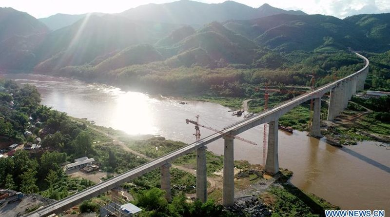 Laos-China Railway On Track Despite Covid-19 Pandemic
