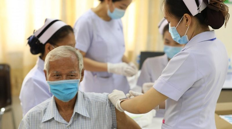 Laos' Plan for 2021 Is To Vaccinate 50 Percent Of The Population